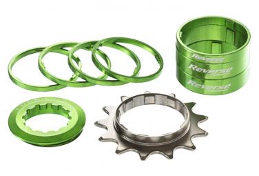 Reverse Single Speed Kit Ritzel 13T Grün