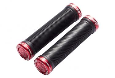Punos Reverse Spin 30 Mm Negro   Rojo