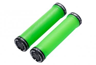 Puños Reverse Spin - green black