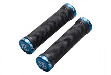 Reverse R-Shock Grips 31 mm Black / Blue