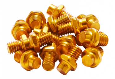 Reverse Spare Pins for Escape Pedals Gold