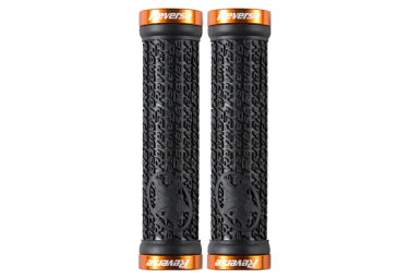 Reverse Grips Stamp Black / Orange