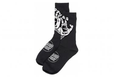 Image of Santa cruz screaming hand mono sock black unique