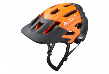 Casque VTT Cairn Dust II Orange Fluo