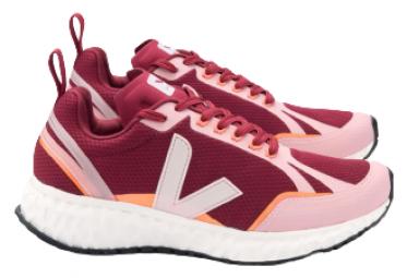 Zapatillas Mujer Veja Condor Alveomesh Rojo   Rosa 38 1 2