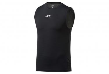 Reebok Activchill Camiseta Negra Para Hombre M