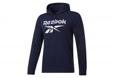 Reebok Big Logo Azul Hombre Sudadera Con Capucha Xl