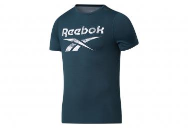 Reebok Workout Activchill Short Sleeve Jersey Verde Hombre L