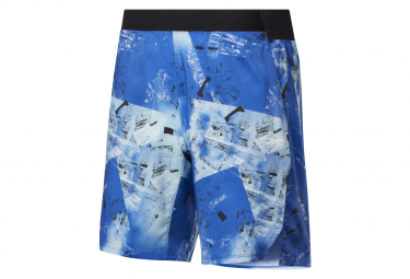 Shorts Reebok Epic Graphic Azul Hombre S