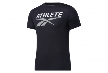 Reebok Athlete Short Sleeve Jersey Negro Hombre S