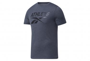 Reebok Athlete Grey Short Sleeve Jersey Hombre Xl