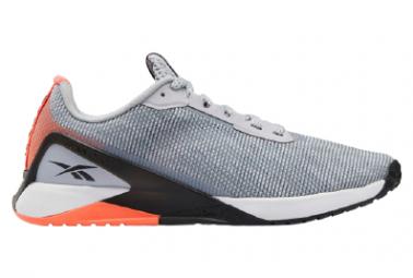 Zapatillas Reebok Nano X1 Grit para Hombre Gris / Naranja