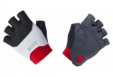 Paire de Gants Courts Gore Wear C5 Vent Noir/Rouge