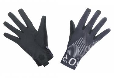 Paire de Gants Longs Gore Wear C7 Pro Gris/Blanc
