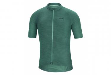 Maillot gore wear c3 nordic manga corta verde s
