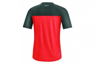 Gore Wear Trail Fireball Short Sleeve Jersey Red / Gray