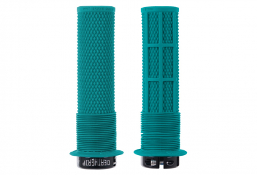 DMR DeathGrip Thin Grips with Flanges Tribe Blue