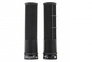 Puños DMR DeathGrip Flangeless Thin - black black