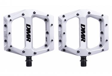 Paire de Pédales Plates DMR Vault Brendog Ice Blanc