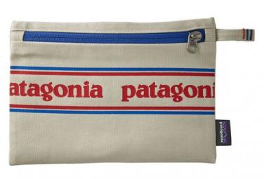 Pochette Patagonia Zippered Pouch Gris Unisex Orange