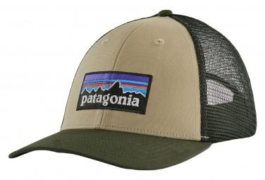 Casquette Patagonia P-6 Logo LoPro Trucker Hat Kaki Unisex