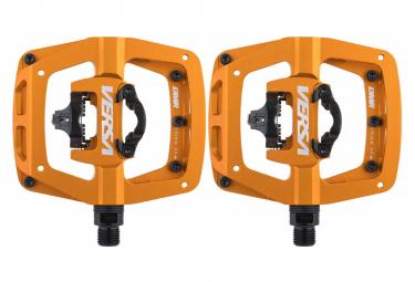 Paire de Pédales Semi-Automatiques DMR Versa Orange