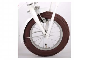 Volare Liberty Bicyclette pour enfants - Filles - 12 pouces - Blanc - 95% assemblé