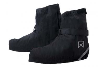 Image of Willex couvre chaussure de velo court 40 43 noir 29424