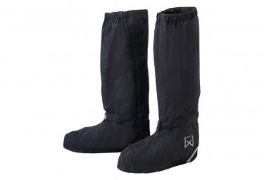 Image of Willex couvre chaussure de velo long 44 48 noir 29428