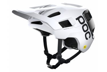 Casco Poc Kortal Race Mips All Mountain Blanco   Negro 2021 M L  55 58 Cm