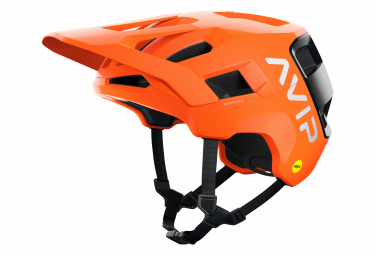 Casco Poc Kortal Race MIPS All Mountain Naranja AVIP / Negro 2021