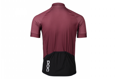 Maillot Manches Courtes Poc Essential Road Rouge