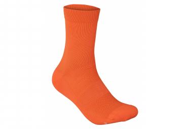 Calcetines Poc Fluo Naranja S