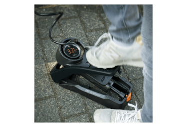 SKS Airstep Digi Floor Pump (Max 102 psi / 7 bar) Black