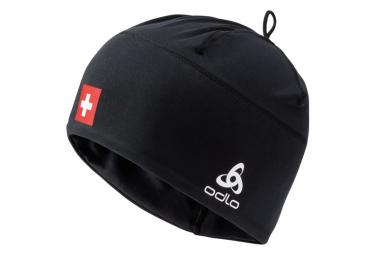 Bonnet Odlo Polyknit Fan Suisse Noir