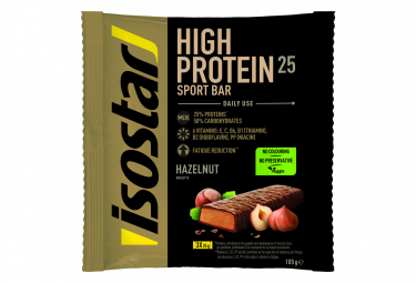 Barres Proteinées Isostar High Protein 25 Noisette 3x35gr