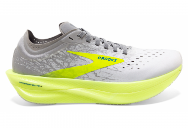 Chaussures de Running Brooks Running Hyperion Elite 2 Blanc / Jaune