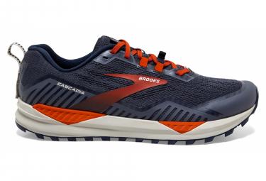 Chaussures de Trail Brooks Running Cascadia 15 Bleu / Orange