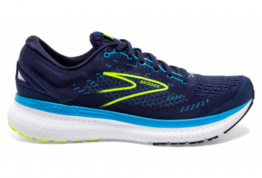 Brooks Glycerin 19 Blue / Yellow Running Shoes