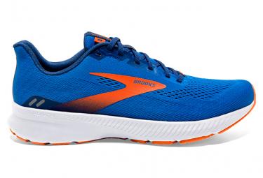 Zapatillas Para Correr Brooks Launch 8 Azul   Naranja 46