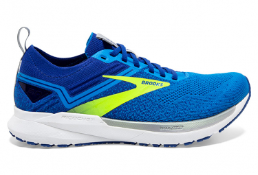 Brooks Ricochet 3 Zapatillas De Running Azules   Amarillas 46