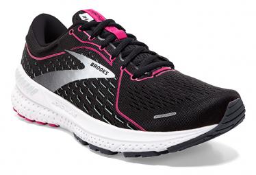 Chaussures de Running Femme Brooks Running Adrenaline GTS 21 Noir / Rose
