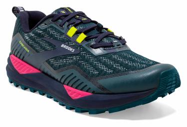 Chaussures de Trail Femme Brooks Running Cascadia 15 Bleu / Rose