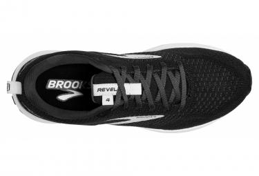 Zapatillas Brooks Running Revel 4 para Mujer Negro / Blanco