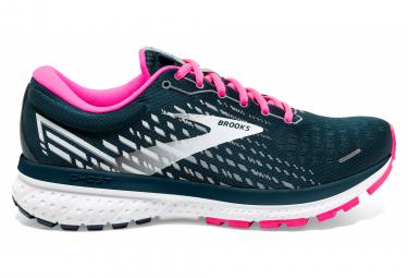 Zapatillas para correr brooks ghost 13 para mujer azul   rosa 39