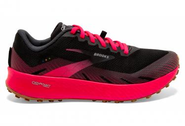 Chaussures de Trail Femme Brooks Running Catamount Noir / Rose