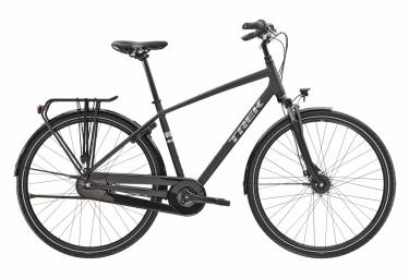 Bicicleta Ciudad Mujer Trek District 1 Equiped Noir / Argent