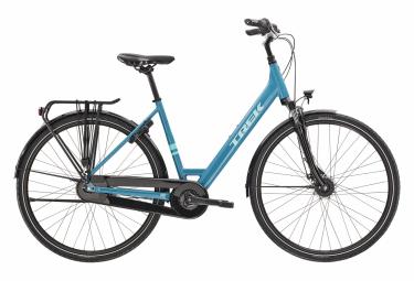 Bicicleta Ciudad Mujer Trek District 1 Equiped Bleu