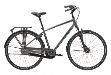 Bicicleta Ciudad Mujer Trek District 2 Equipped Gris