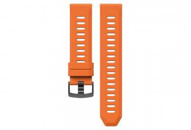 Coros apex pro   apex 46 mm correa de silicona de liberacion rapida naranja
